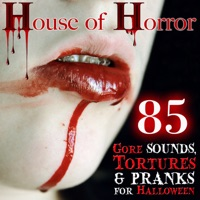 house of horror 85 gore sounds tortures and pranks for halloween - Halloween Wav Files