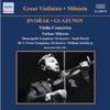Dvořák & Glazunov: Violin Concertos ジャケット写真
