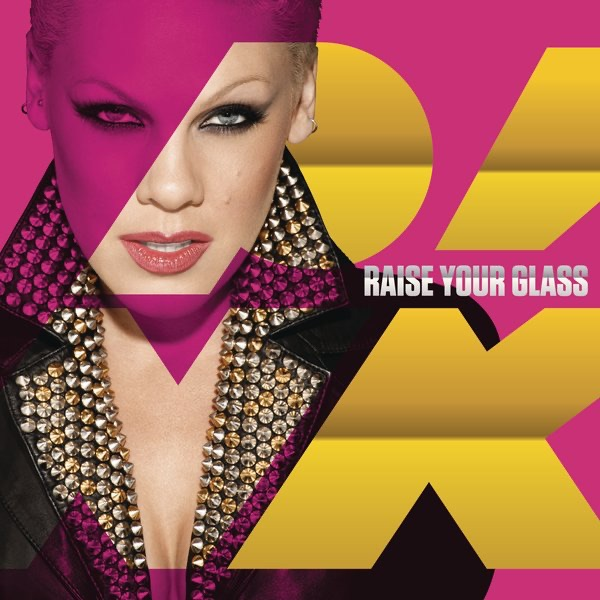 Raise Your Glass - Single Pnk CD cover