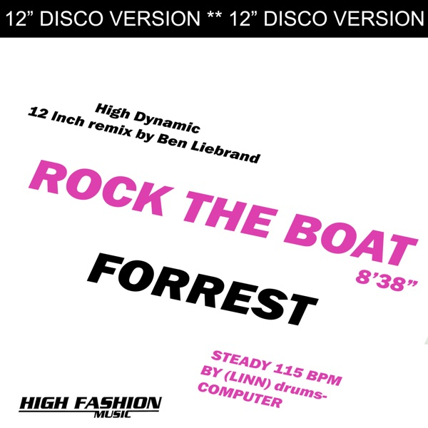 Cover art for Rock The Boat