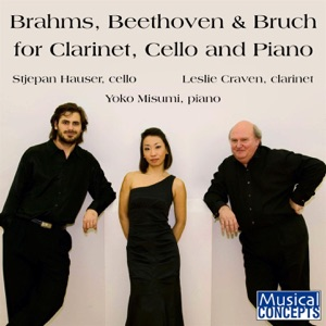 Leslie Craven, HAUSER & Yoko Misumi - Eight Pieces, Op. 83: No. 1 in A Minor: Andante