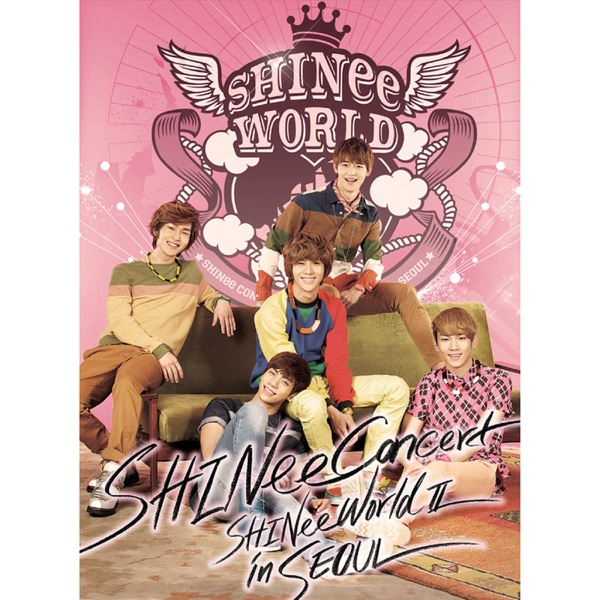 SHINee THE 2nd CONCERT ALBUM <SHINee WORLD Ⅱ in Seoul>