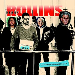 Spoken Word Guy: 11-03-08 Alexandria, VA - Henry Rollins Album Cover