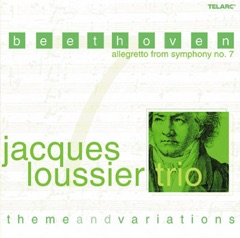 Beethoven: Allegretto from Symphony No. 7 (theme and Variations - Arrangements By Jacques Loussier)