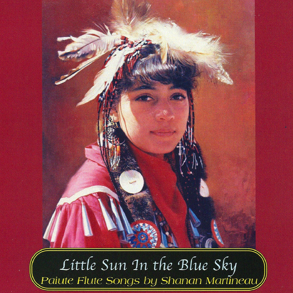 Little Sun In the Blue Sky Shanan Martineau CD cover