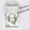 The Blue Angel: 25 Best Songs by Marlene Dietrich - Marlene Dietrich