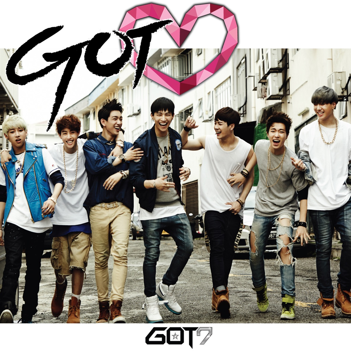 Got Love GOT7 CD cover