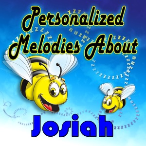Personalized Kid Music - Josiah has the Purple Sock Blues (Joesiah, Jasiah, Jesiah, Jasyah, Joziah, Josia)