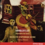 Bienne Symphony Orchestra, Thomas Rösner & Alexandre Da Costa - 3 Pieces from Schindler's List (Version for Orchestra): No. 1. Theme