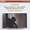 Schubert: Piano Sonata in C Minor & 6 Moments Musicaux ジャケット写真