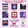 CD Sampler of Music for Massage, Yoga, Tai Chi, Relaxation & Cool Jazz!