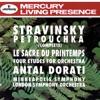 Stravinsky: Petrouchka; The Rite of Spring; 4 Etudes ジャケット写真