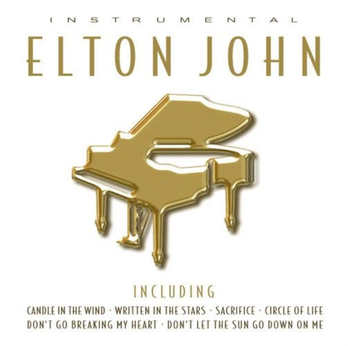The Instrumental Hits of Elton John Pierre Vangelis CD cover