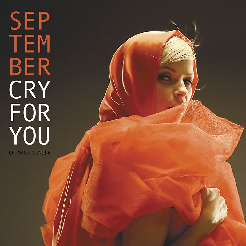 Cry for You - EP September CD cover