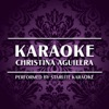 Karaoke: Christina Aguilera (Karaoke Versions) ジャケット写真