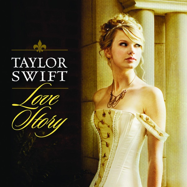 Love Story Pop Mix - Single Taylor Swift CD cover