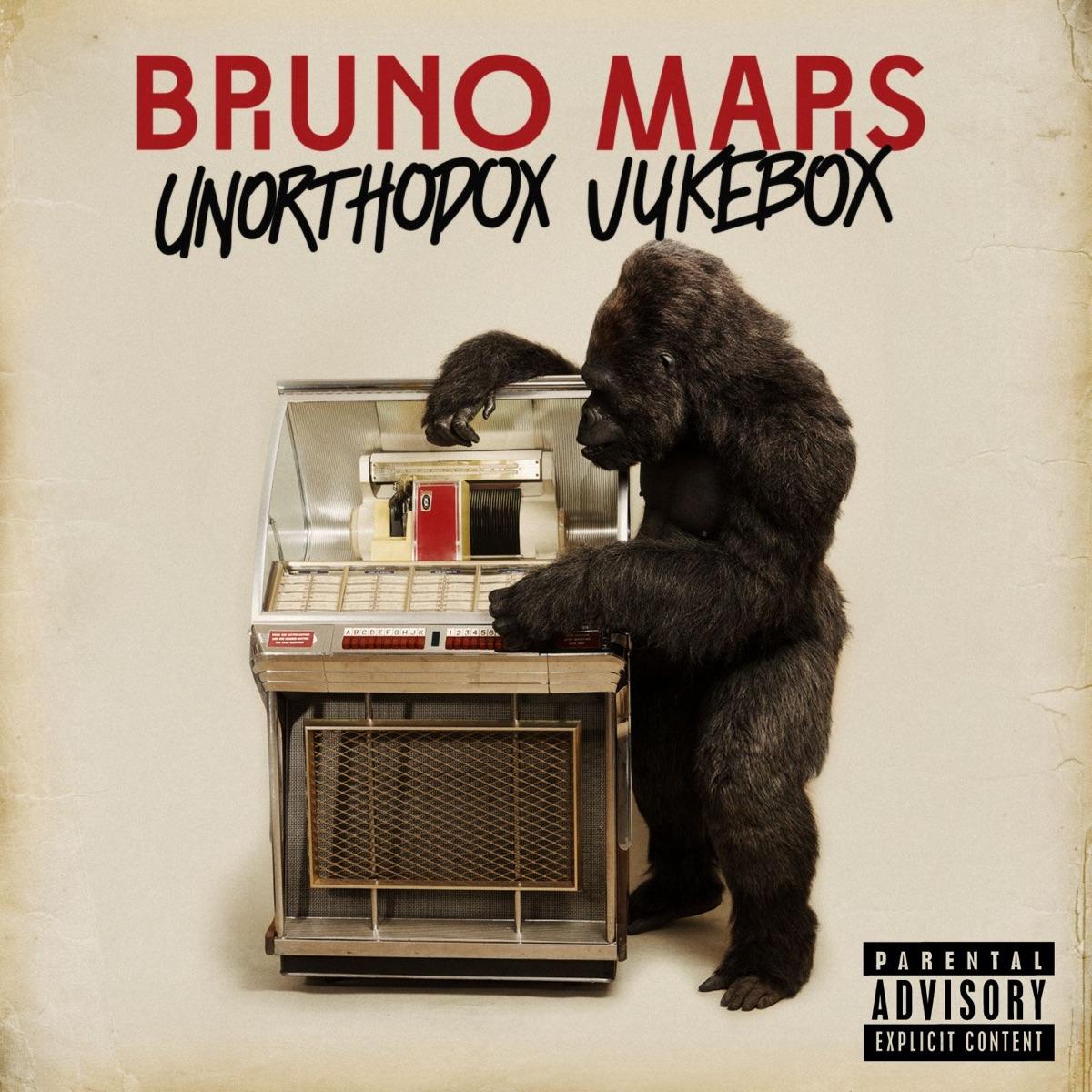 Unorthodox Jukebox Bruno Mars CD cover