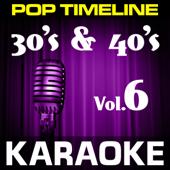 Swanee (In the Style of Al Jolson) [Karaoke Version]