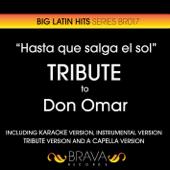 Hasta Que Salga el Sol (Tribute to Don Omar) - EP