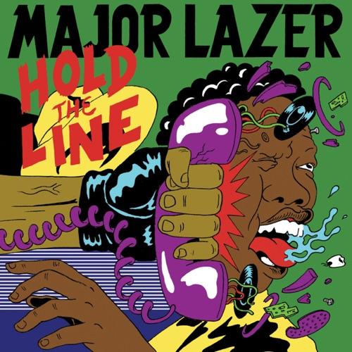 Major Lazer - Hold the Line (feat. Mr. Lex & Santigold) - Single