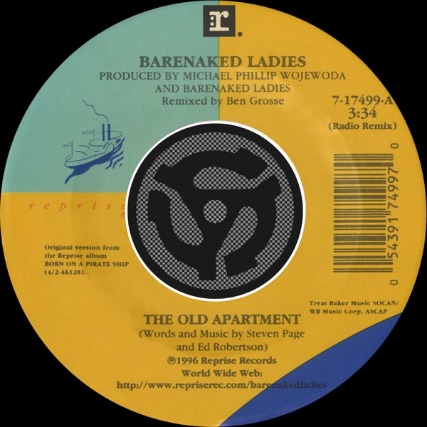 The Old Apartment (Radio Remix) / Lovers In a Dangerous Time (Digital 45) - Single