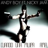 Cuando una Mujer Ama (feat. Nicky Jam) - Single