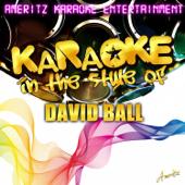 Thinkin' Problem (In the Style of David Ball) [Karaoke Version]