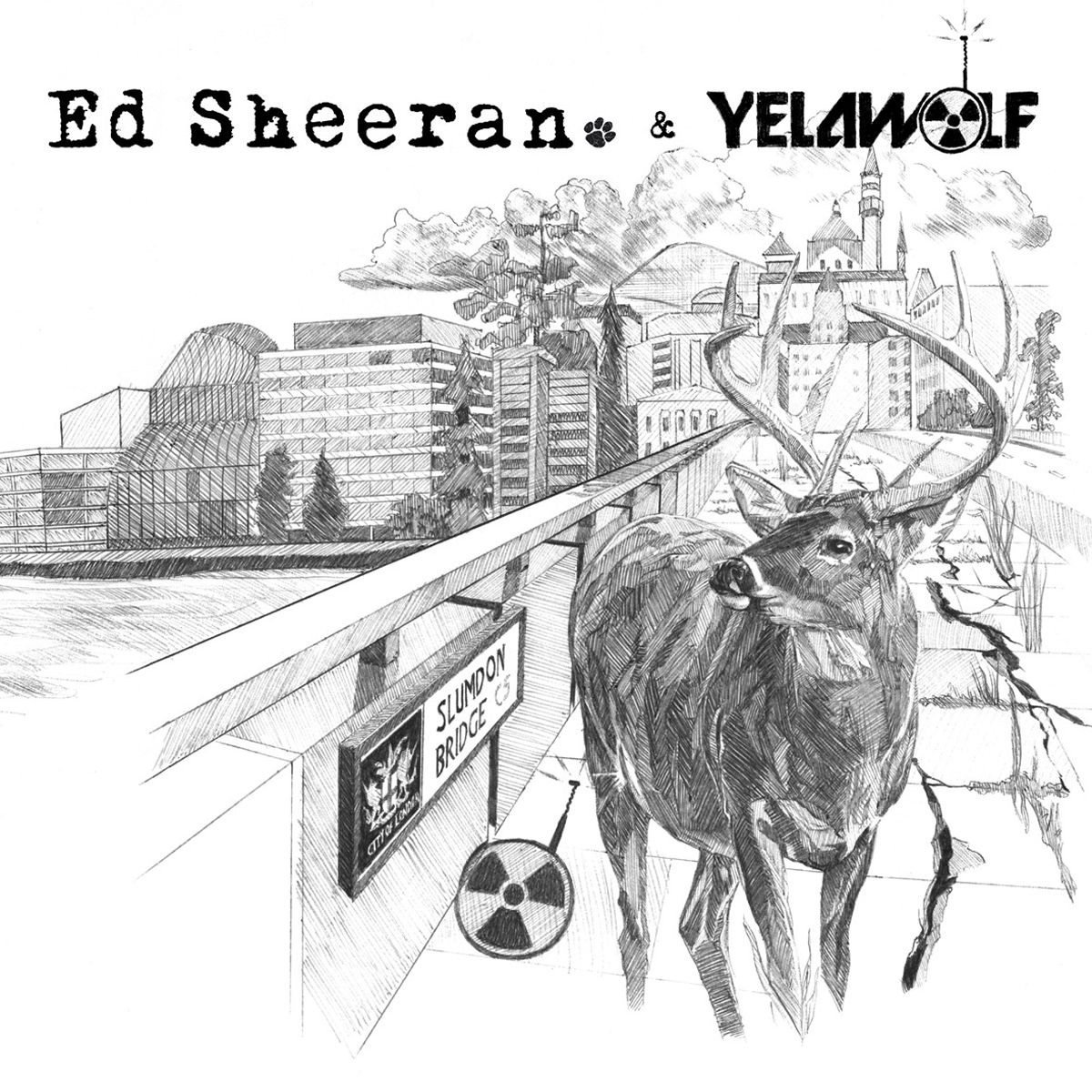 The Slumdon Bridge - EP Ed Sheeran  Yelawolf CD cover