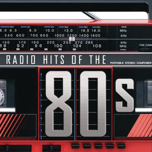 Radio Hits of the 80s Various Artists CD cover