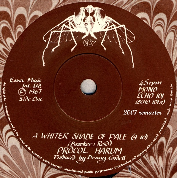 Cover art for A Whiter Shade Of Pale