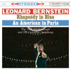 Leonard Bernstein, New York Philharmonic & Columbia Symphony Orchestra - Gershwin: Rhapsody in Blue - An American in Paris  artwork