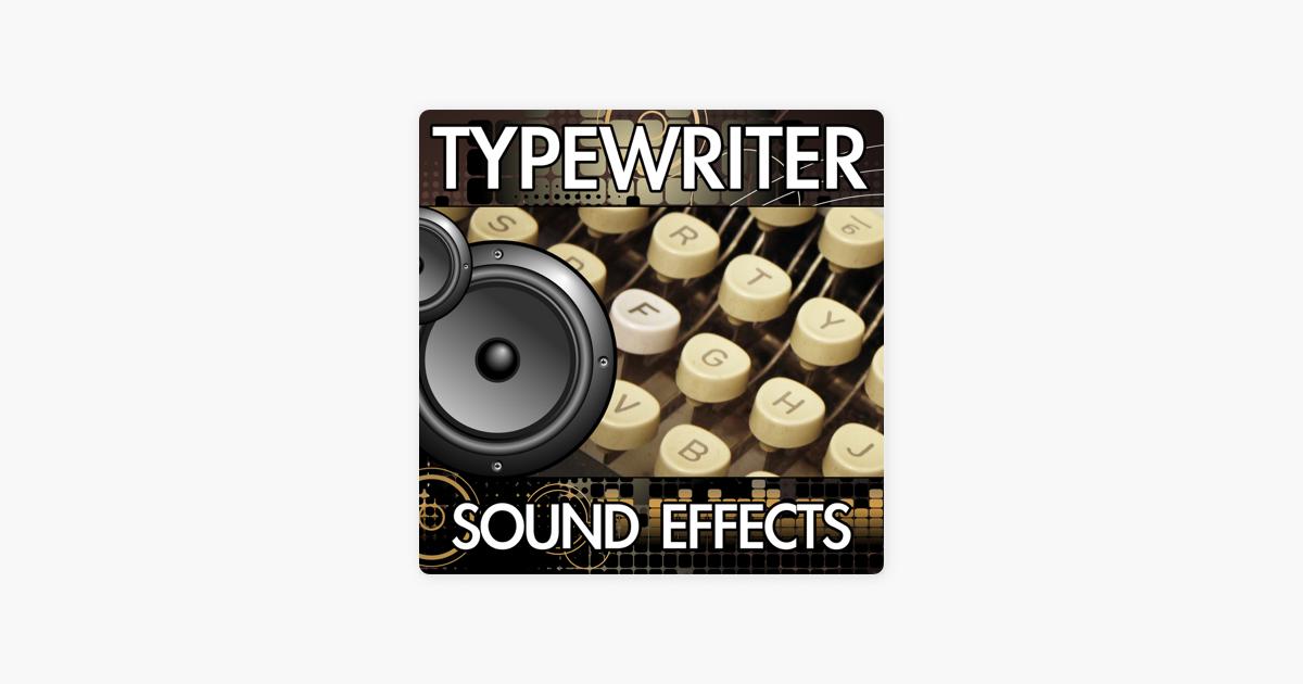 Typewriter Sound Effects de Finnolia Sound Effects