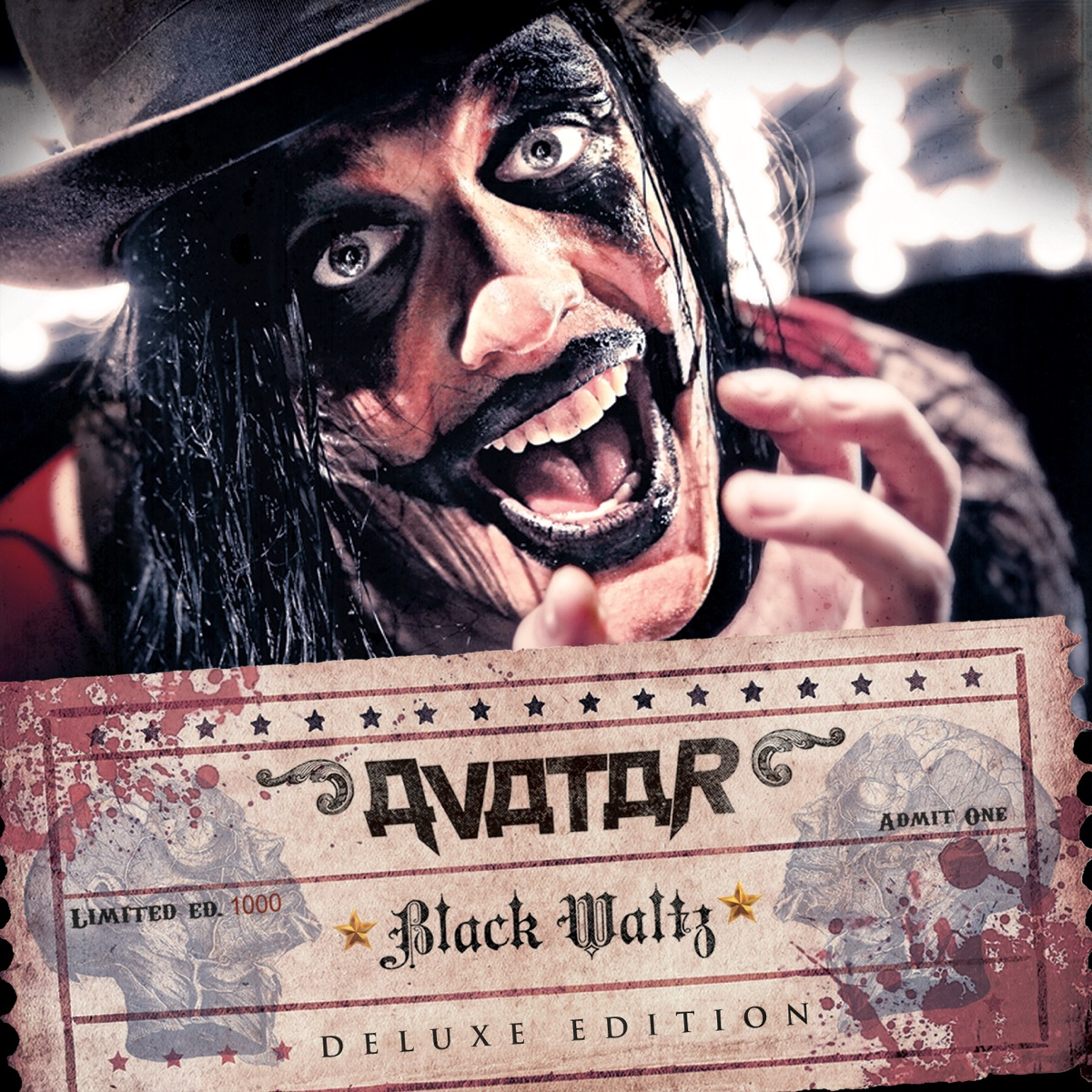 Black Waltz Deluxe Edition Avatar CD cover