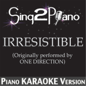 Irresistible (Originally Performed By One Direction) [Piano Karaoke Version]
