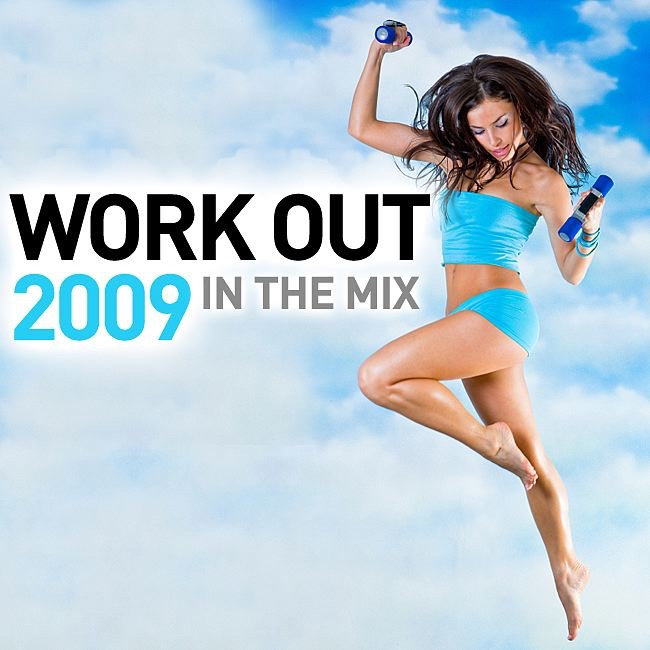 Work Out 2009 - In the Mix 130 BPM Mischa Daniels Paris Clubbin  StoneBridge CD cover