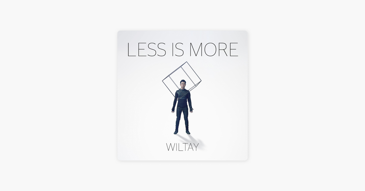 wiltayの less is more single をapple musicで