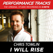 I Will Rise (Performance Track In Key of G# Without Background Vocals)