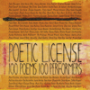 Emily Dickinson, E. E. Cummings, William Wordsworth, Billy Collins, Allen Ginsberg & Henry Wadsworth Longfellow - Poetic License: 100 Poems - 100 Performers (Unabridged)  artwork