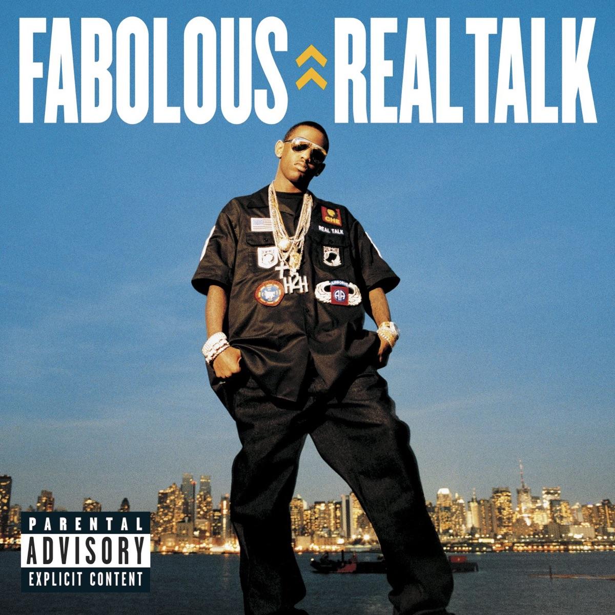Real Talk Fabolous CD cover