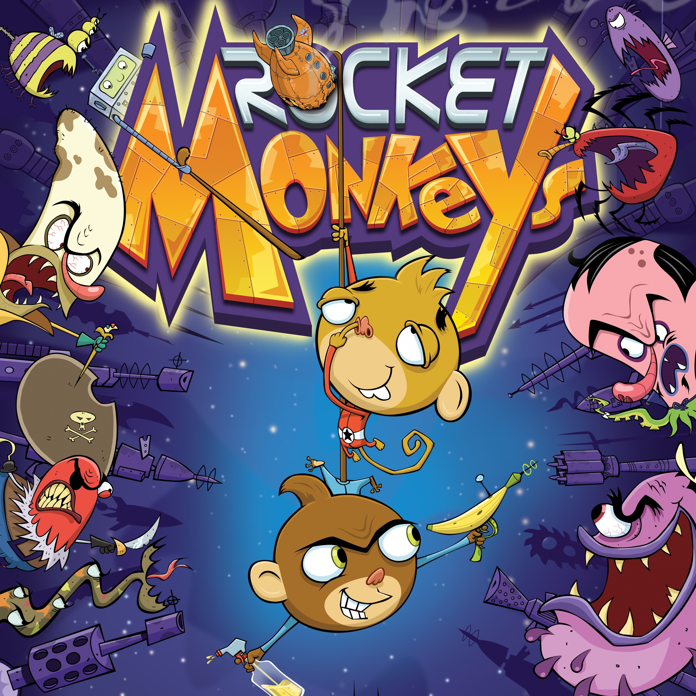 Rocket Monkeys, Season 1, Volume 1 sur iTunes