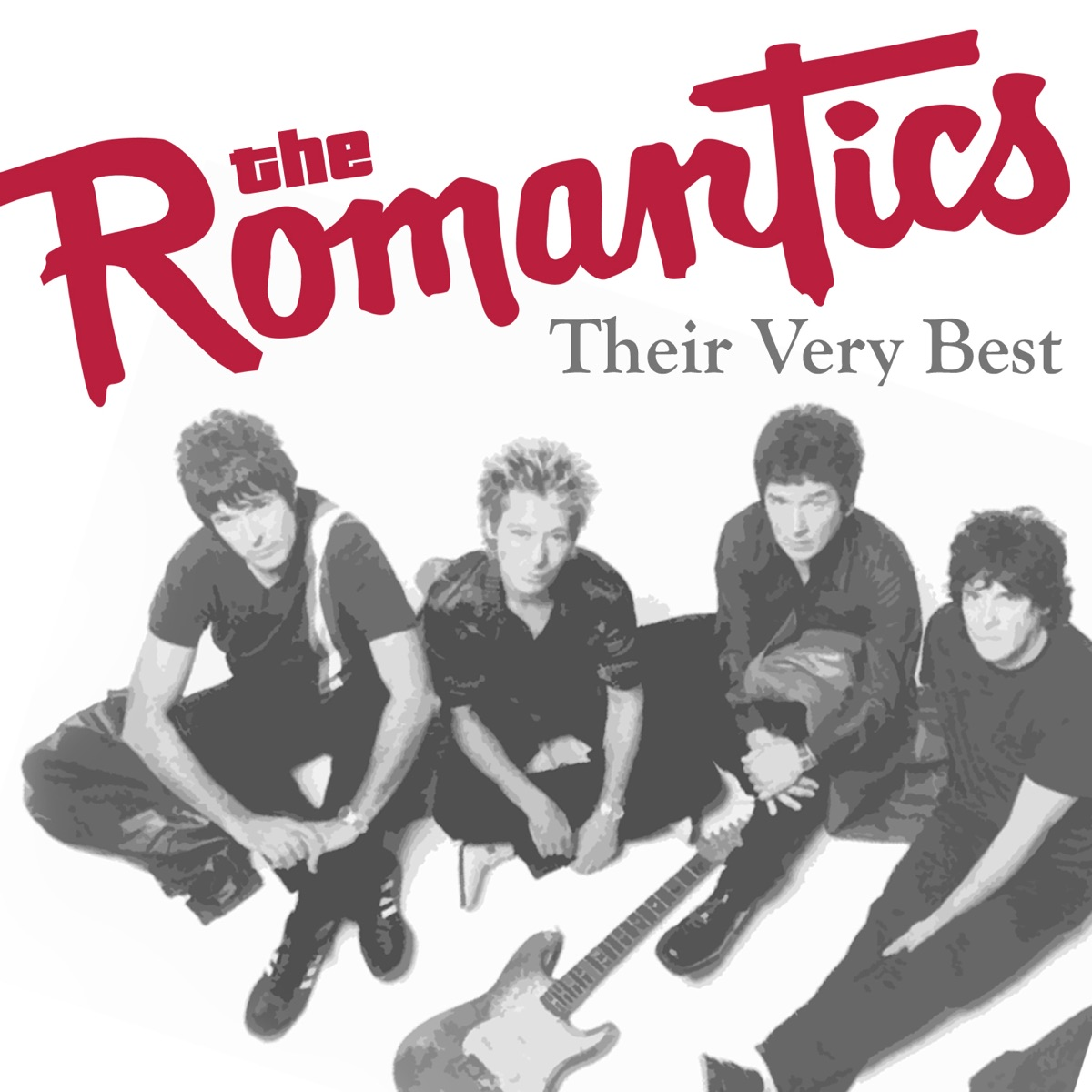 Their Very Best Re-Recorded Versions - Single The Romantics CD cover