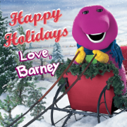 Happy Holidays Love, Barney - Barney - Barney