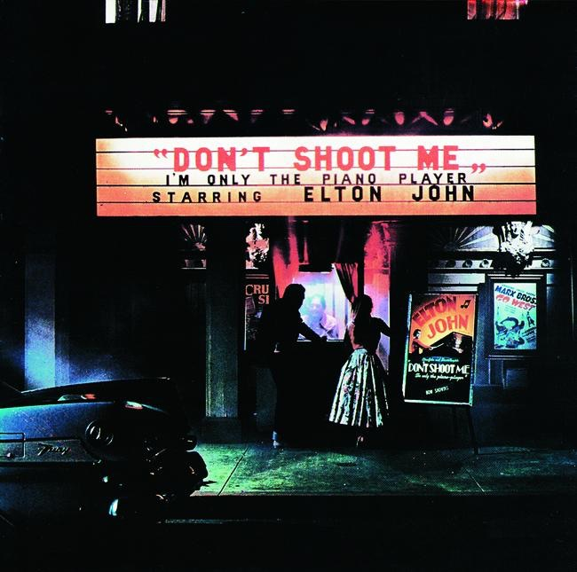 Dont Shoot Me Im Only the Piano Player Elton John CD cover