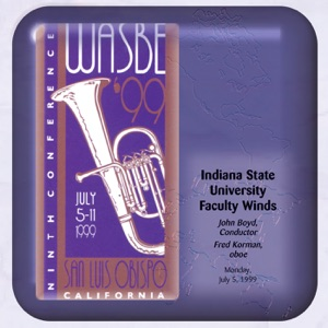 Fred Korman, Indiana State University Faculty Winds & John P. Boyd - Indiana (Back Home Again in Indiana) (arr. F. Wende)
