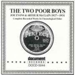 The Two Poor Boys - Joe Evans & Arthur McClain (1927-1931)