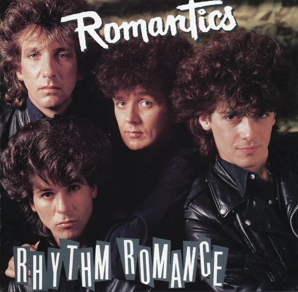 Rhythm Romance The Romantics CD cover