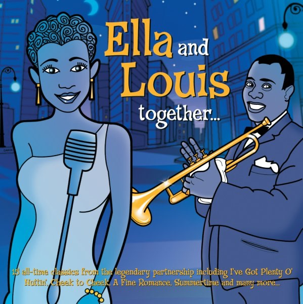 Ella Fitzgerald, Louis Armstrong - Can't We Be Friends?