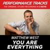 You Are Everything (Performance Tracks) - EP, Matthew West