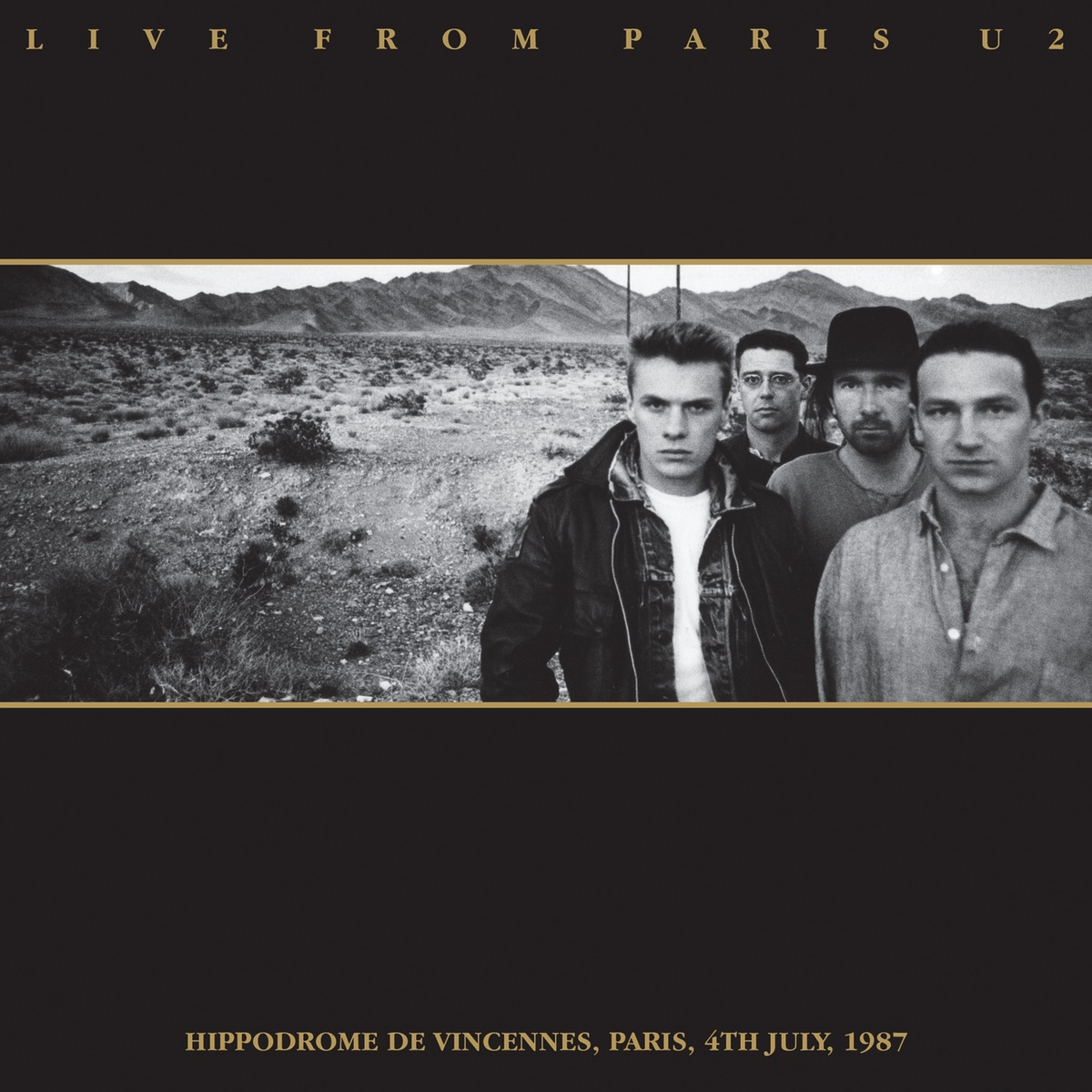 Live from Paris U2 CD cover