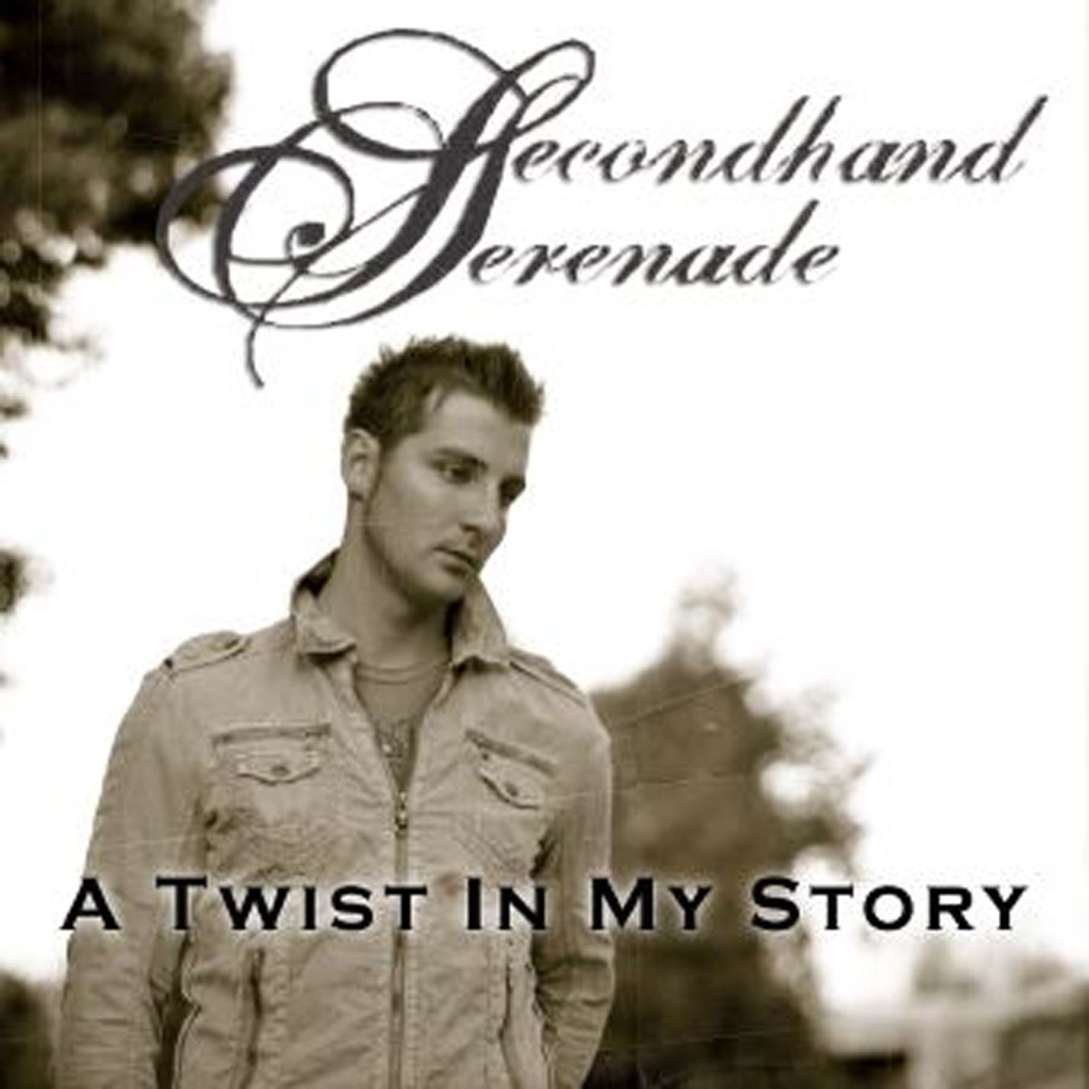 A Twist In My Story - Single Album Cover by Secondhand Serenade